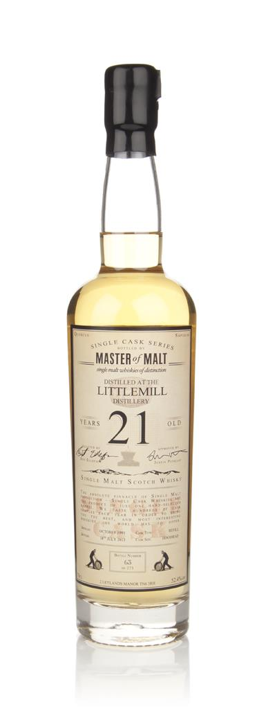 Littlemill 21 Year Old - Single Cask (Master of Malt) Single Malt Whisky