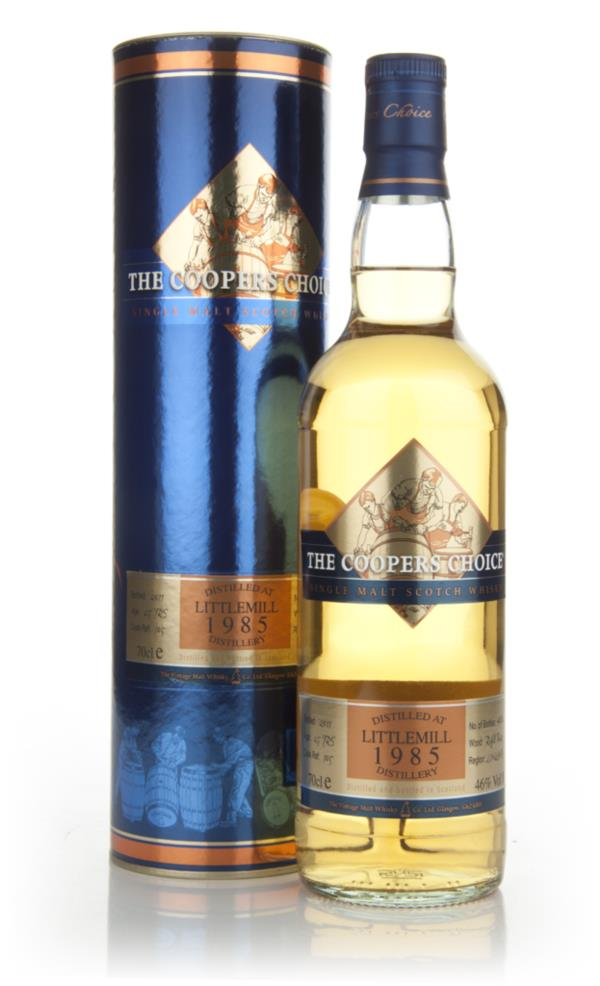 Littlemill 25 Year Old 1985 - Coopers Choice Single Malt Whisky