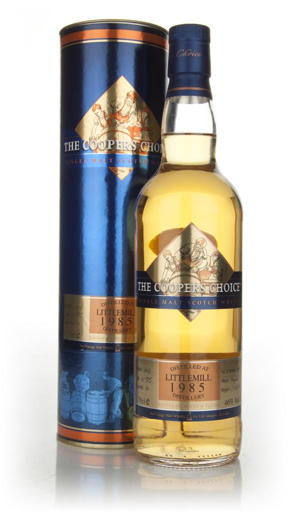 Littlemill 27 Year Old 1985 - Coopers Choice (Vintage Malt Whisky Comp Single Malt Whisky