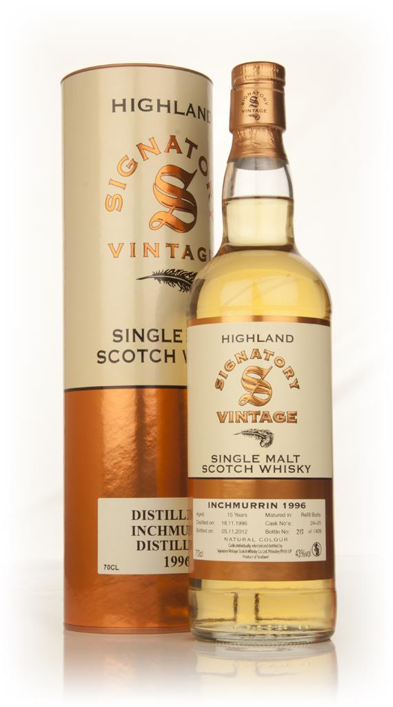 Inchmurrin 16 Year Old 1996 (cask 24+25) (Signatory) Single Malt Whisky