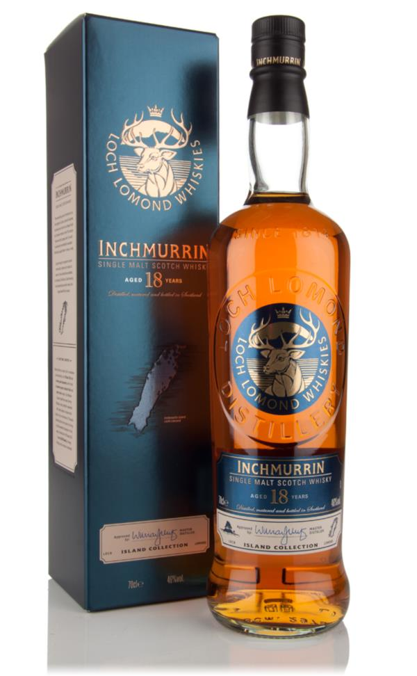 Inchmurrin 18 Year Old Single Malt Whisky