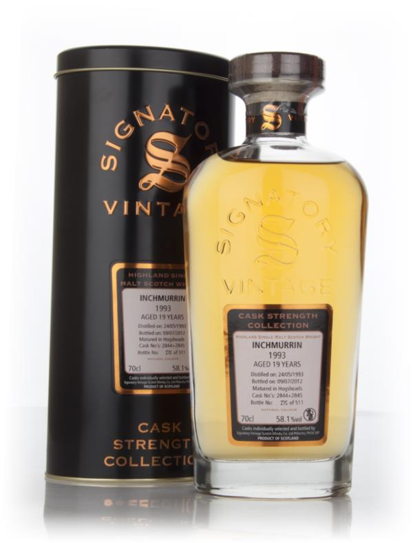 Inchmurrin 19 Year Old 1993 (cask 2844+2845) - Cask Strength Collectio Single Malt Whisky