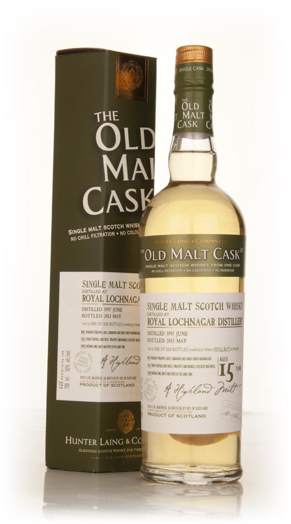 Lochnagar 15 Year Old 1997 (cask 9818) - Old Malt Cask (Hunter Laing) Single Malt Whisky