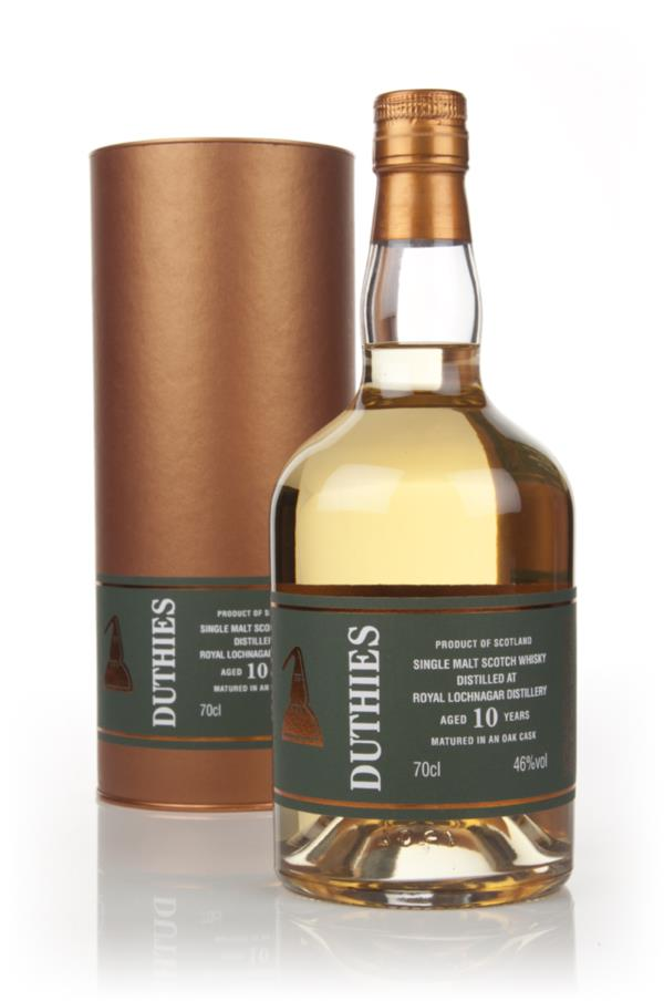 Royal Lochnagar 10 Year Old - Duthies (WM Cadenhead) Single Malt Whisky