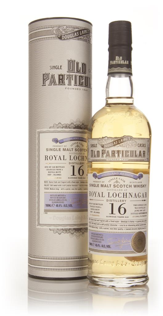 Royal Lochnagar 16 Year Old 1997 (cask 10021) - Old Particular (Dougla Single Malt Whisky