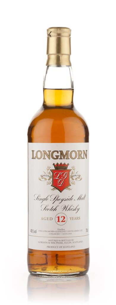 Longmorn 12 Year Old (Gordon and MacPhail) Single Malt Whisky