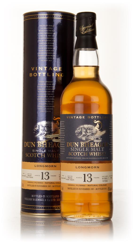 Longmorn 13 Year Old 1997 - Dun Bheagan (Ian MacLeod) Single Malt Whisky