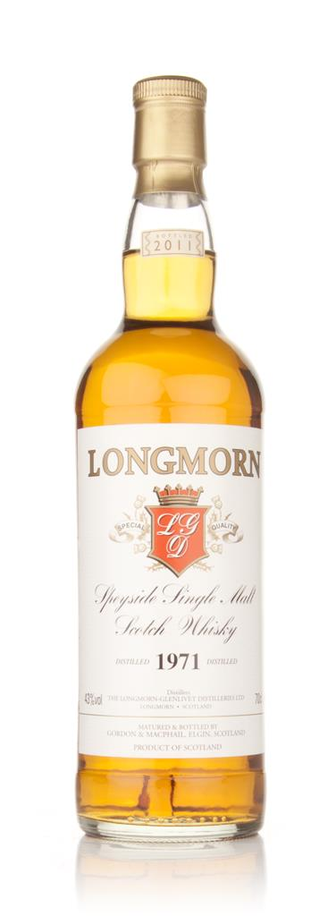 Longmorn 1971 (Gordon and MacPhail) Single Malt Whisky