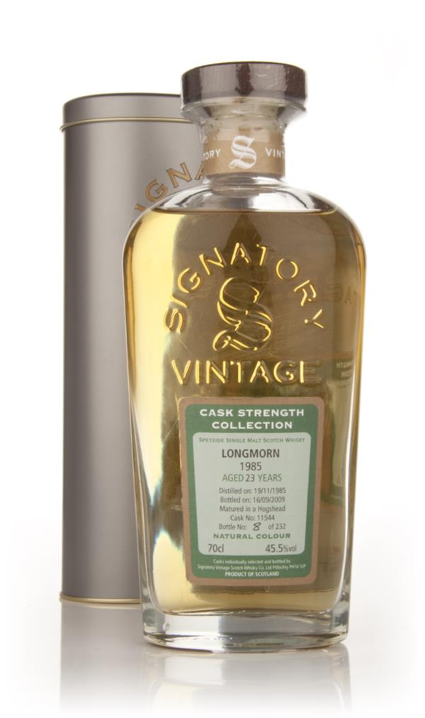 Longmorn 23 Year Old 1985 - Cask Strength Collection (Signatory) Single Malt Whisky
