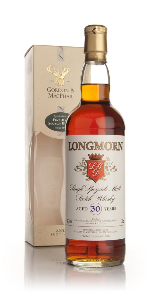 Longmorn 30 Year Old (Gordon and MacPhail) Single Malt Whisky