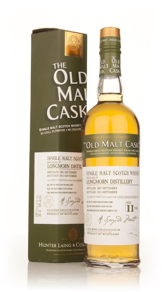 Longmorn 11 Year Old 2002 (cask 10029) - Old Malt Cask (Hunter Laing) Single Malt Whisky