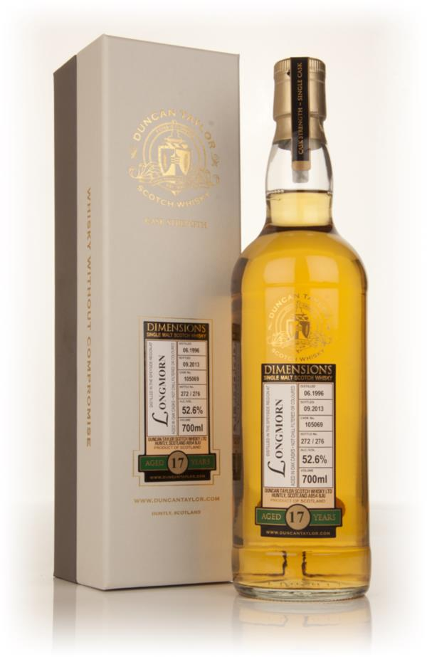 Longmorn 17 Year Old 1996 (cask 105069) - Dimensions (Duncan Taylor) Single Malt Whisky