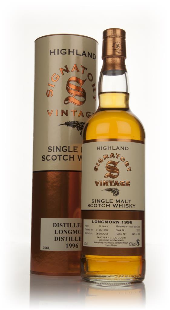Longmorn 17 Year Old 1996 (cask 72325) - Signatory Single Malt Whisky