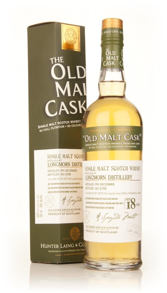 Longmorn 18 Year Old 1994 (cask 9885) - Old Malt Cask (Hunter Laing) Single Malt Whisky