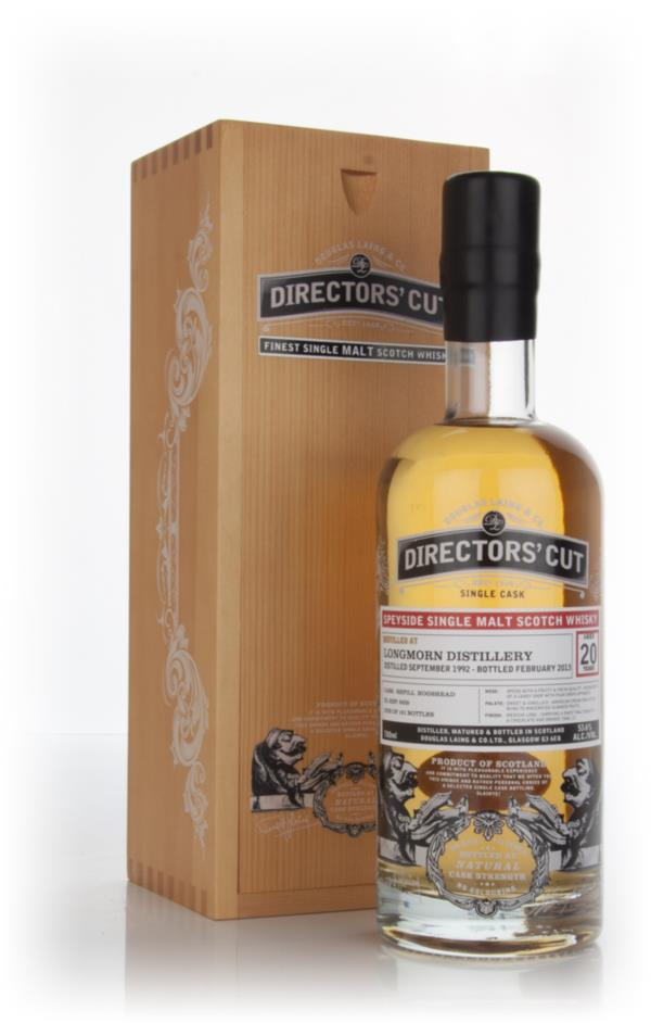 Longmorn 20 Year Old 1992 (cask 9528) - Directors Cut (Douglas Laing) Single Malt Whisky