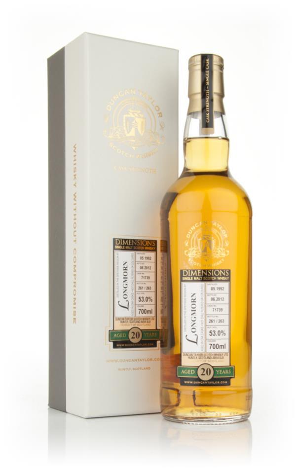 Longmorn 20 Year Old 1992 - Dimensions (Duncan Taylor) Single Malt Whisky