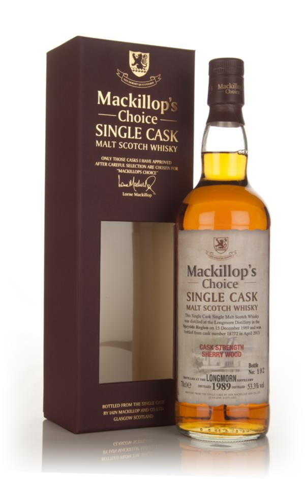 Longmorn 23 Year Old 1989 (cask 18772) - Mackillop's Choice Single Malt Whisky