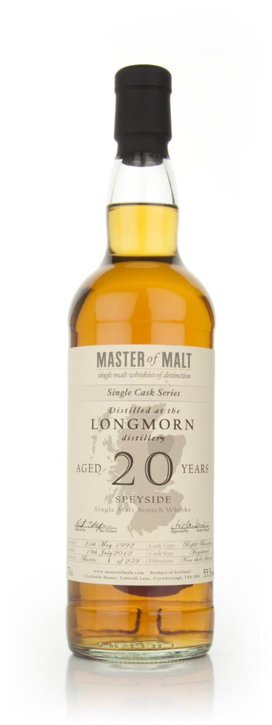 Longmorn 20 Year Old - Single Cask (Master of Malt) Single Malt Whisky