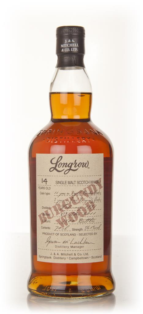 Longrow 14 Year Old Burgundy Single Malt Whisky