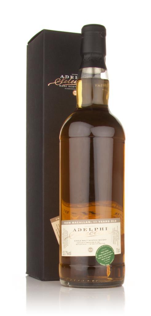 Macallan 17 Year Old 1993 (Adelphi) Single Malt Whisky