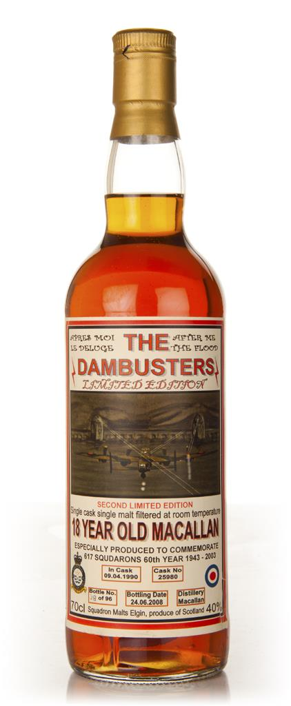 Macallan 18 Year Old - The Dambusters Single Malt Whisky