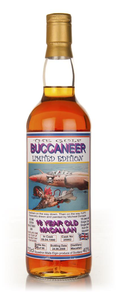 Macallan 18 Year Old - The Gulf Buccaneer Single Malt Whisky