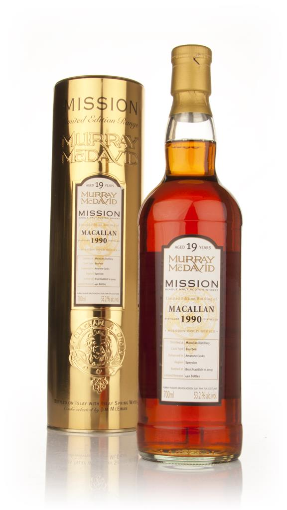 Macallan 19 Year Old 1990 - Mission (Murray McDavid) Single Malt Whisky