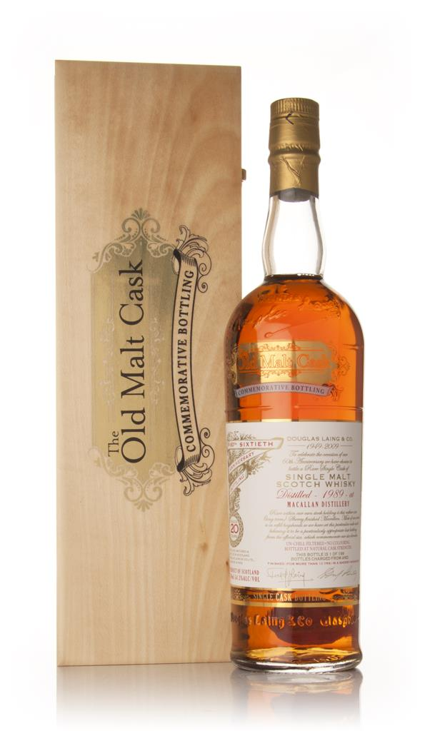 Macallan 20 Year Old 1989 60th Anniversary - Old Malt Cask Commemorati Single Malt Whisky