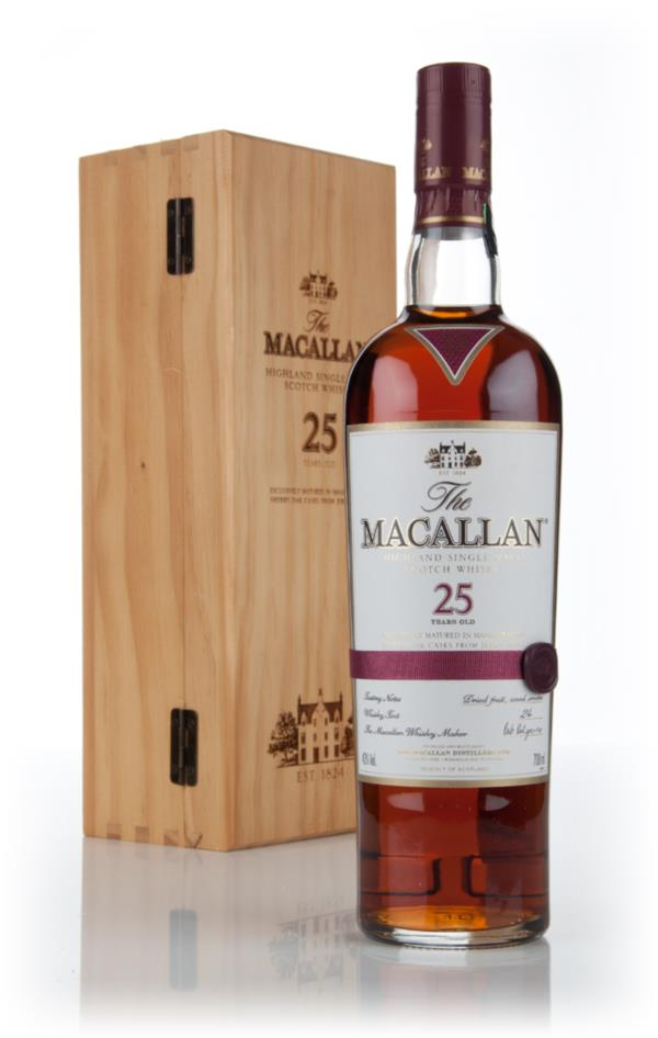 The Macallan 25 Year Old Sherry Oak Single Malt Whisky