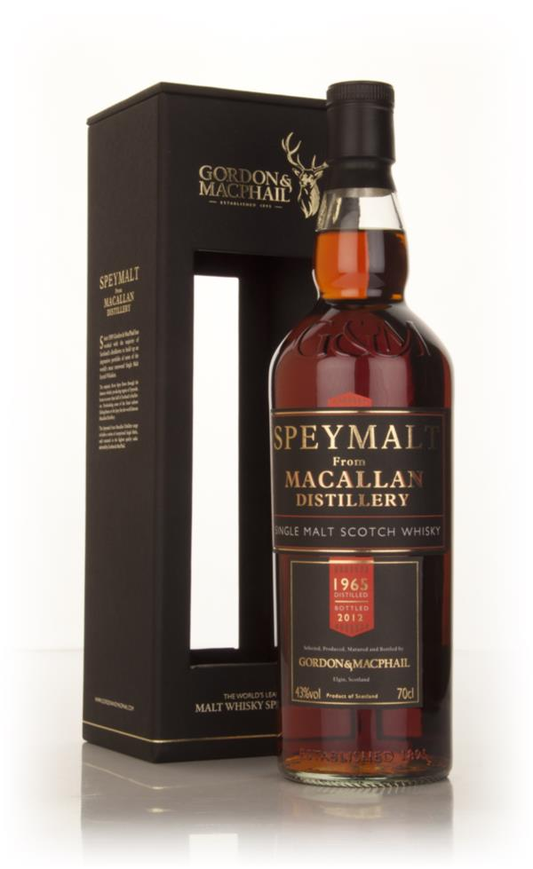 Macallan 1965 - Speymalt (Gordon and MacPhail) Single Malt Whisky