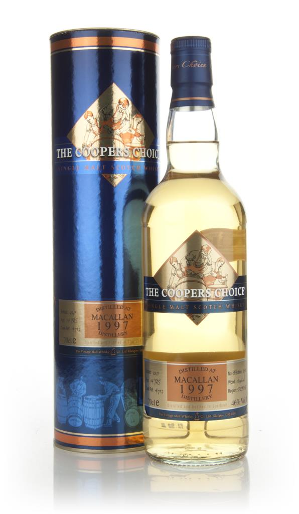 Macallan 14 Year Old 1997 - The Coopers Chioce Single Malt Whisky