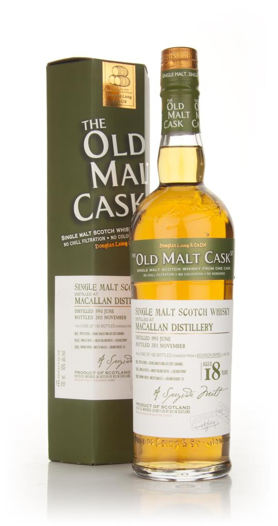 Macallan 18 Year Old 1993 - Old Malt Cask (Douglas Laing) Single Malt Whisky