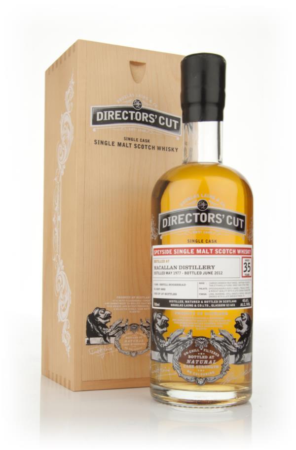 Macallan 35 Year Old 1977 - Directors Cut (Douglas Laing) Single Malt Whisky