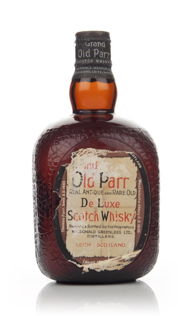 Grand Old Parr De Luxe Scotch Whisky (No Box) - 1950s Blended Whisky