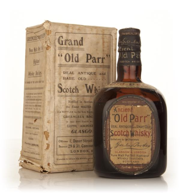 Old Parr Blended Scotch Whisky - 1950s Blended Whisky