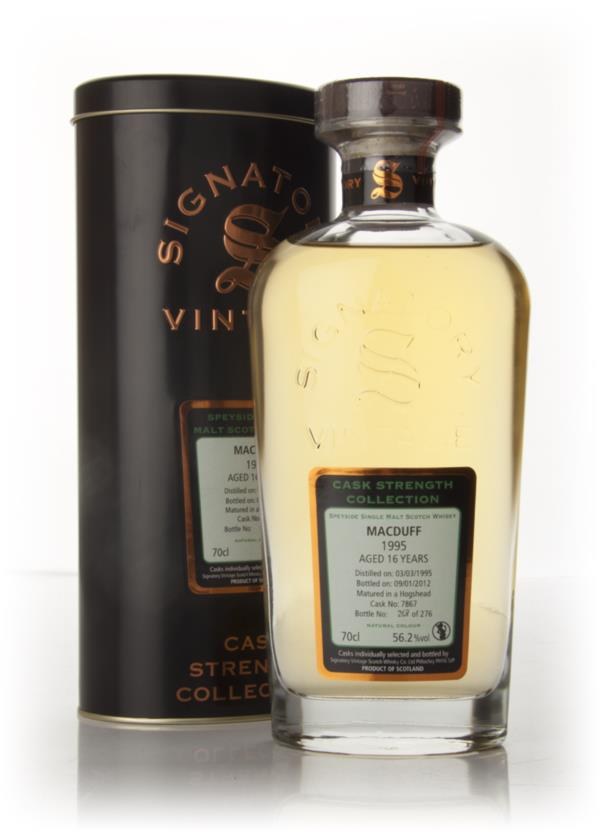 Macduff 16 Year Old 1995 - Cask Strength Collection (Signatory) Single Malt Whisky