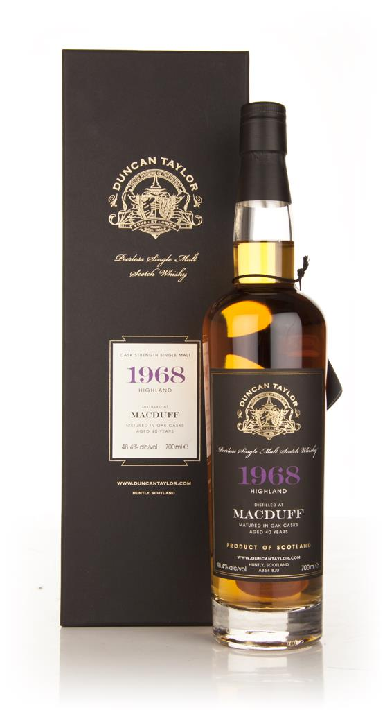 Macduff 40 Year Old 1968 - Peerless (Duncan Taylor) Single Malt Whisky