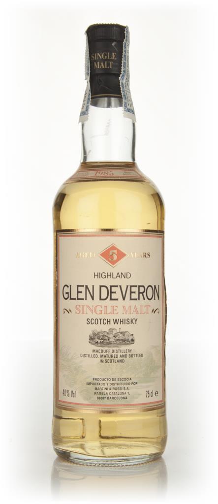 Glen Deveron 5 Year Old 1985 Single Malt Whisky