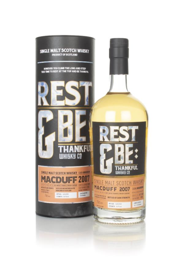 Macduff 12 Year Old 2007 (cask 11200) - Rest & Be Thankful Single Malt Whisky