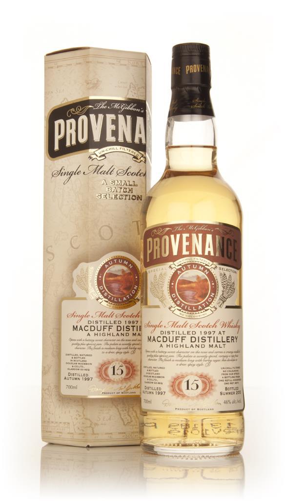 Macduff 15 Year Old 1997 (cask 9873) - Provenance (Douglas Laing) Single Malt Whisky