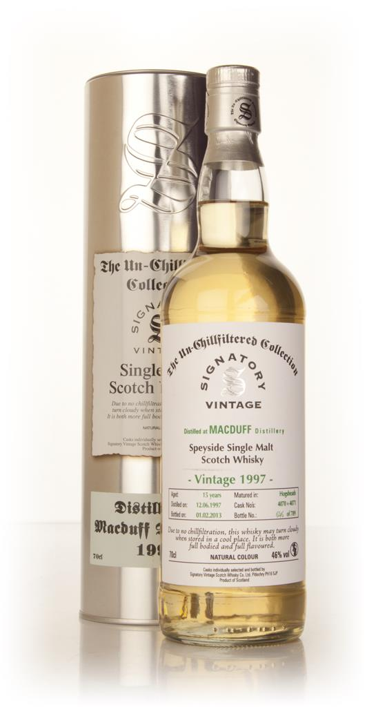Macduff 15 Year Old 1997 (casks 4070+4071) - Un-Chillfiltered (Signato Single Malt Whisky