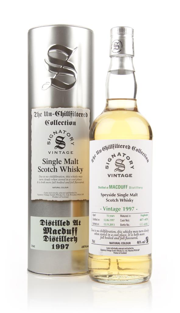 Macduff 16 Year Old 1997 (casks 4077+4078) - Un-Chillfiltered (Signato Single Malt Whisky