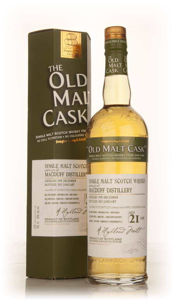 Macduff 21 Year Old 1990 - Old Malt Cask (Douglas Laing) Single Malt Whisky