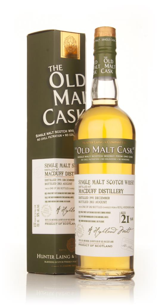 Macduff 21 Year Old 1991 (9909) - Old Malt Cask (Hunter Laing) Single Malt Whisky