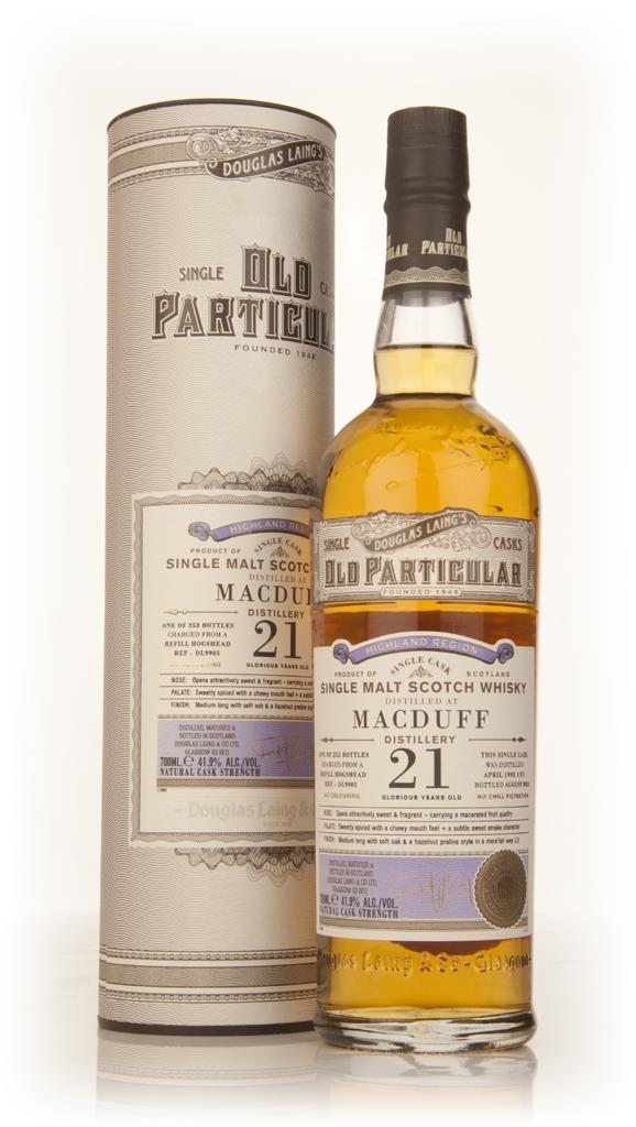 Macduff 21 Year Old 1992 (cask 9905) - Old Particular (Douglas Laing) Single Malt Whisky