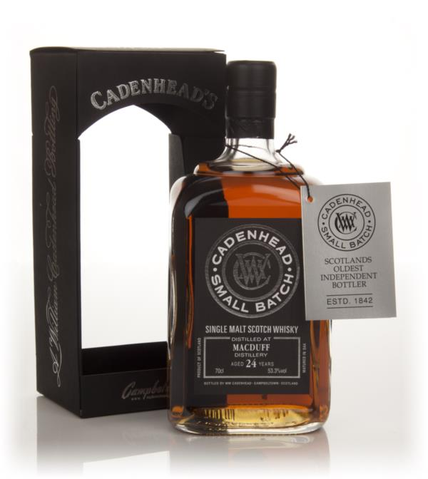 Macduff 24 Year Old 1989 - Small Batch (WM Cadenhead) Single Malt Whisky
