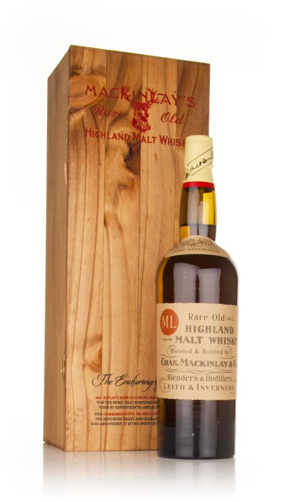 Mackinlays Shackleton Rare Old Highland Malt Blended Whisky