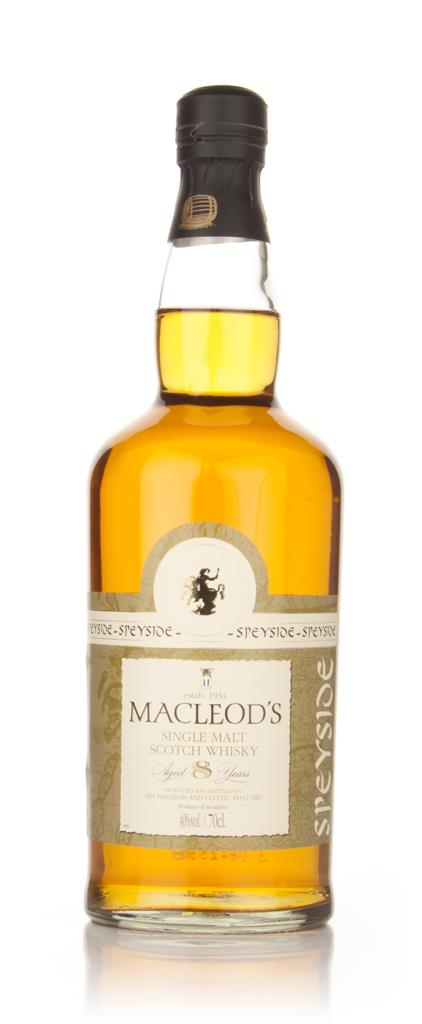 Macleods 8 Year Old Speyside (Ian Macleod) Single Malt Whisky