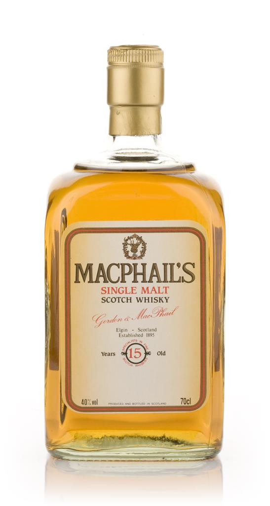 MacPhails 15 Year Old Single Malt Whisky