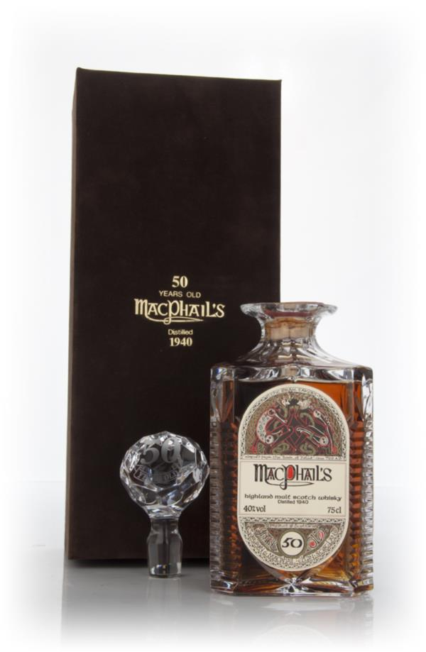 MacPhails 50 Year Old 1940 Single Malt Whisky